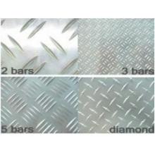 Escadas de segurança de alumínio anti-Slippy para construção