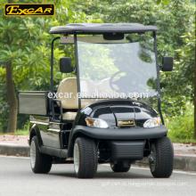 Carro elétrico da porcelana do carro de serviço público de EXCAR barato 4 mini carro bonde do golfe dos assentos com carga