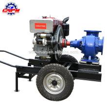 sistema de bomba de agua de irrigación del motor diesel autocebante, bomba diesel
