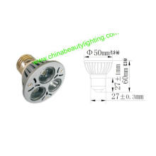 Lumière d'ampoule de LED 3 * 1W E27 Spot
