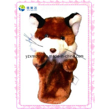 Custom Plush Animals Fox Puppet (XDT-0134)