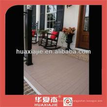 WPC напольное покрытие для оформления террасы