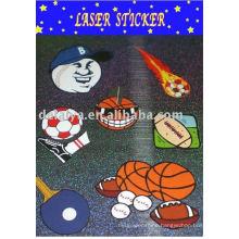 laser pvc sticker for Halloween