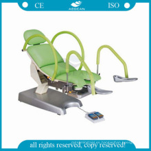 AG-S105B aprobado eléctrico mesa de examen ginecológico quirúrgico