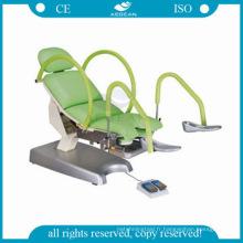 AG-S105B approuvé électrique table d'examen gynécologique chirurgicale