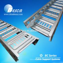 Venda quente Austrilia Tipo Escada de Cabo Pre-galvanizado Preços Bandeja Escada Perfurada
