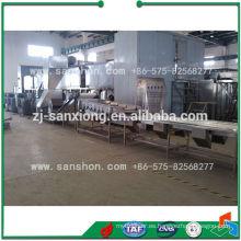 Maquinaria de procesamiento de alimentos Línea de producción de congelación de habas