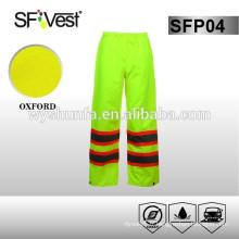 Pantalon homme pour 100% polyester, 300D oxford avec revêtement PU ou PVC