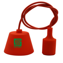 Colorful Decorative Silicon Combined with Plastic Pendant Light