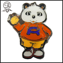 Cartoon Bear metal pin badge