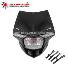 wholesale cross off road motorcycle head light of headlight for colorful motorcycle head light
