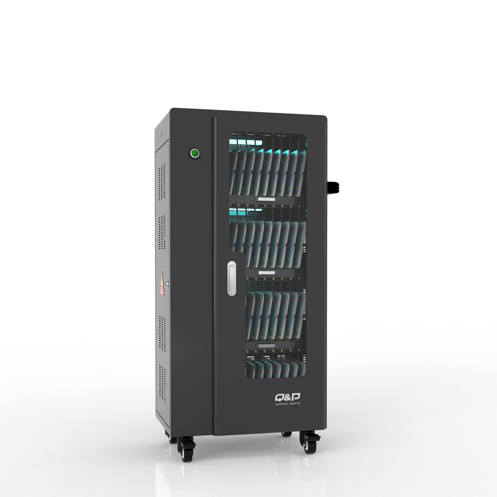 Sync and storage charging carts for educational equipment