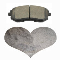 EF GG coefficients cashew friction dust red copper carbon ceramic fiber friction material for brake pad lining