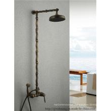 Torneira do chuveiro do banho do banheiro do Bambu-Barra