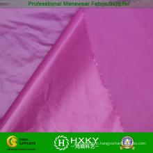 380t Nylon Taffeta Fabric with Ultrabright PU Coating for Down Coat