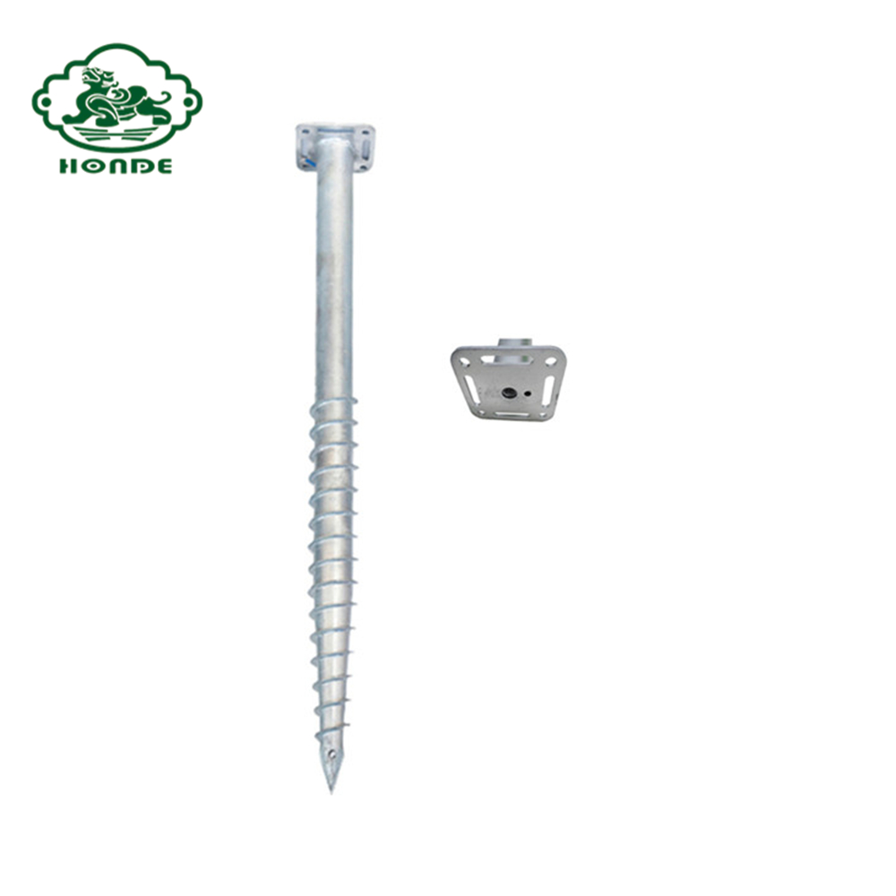 helix screw piles