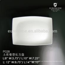 P028 catering & banquet vajilla placa de degustación