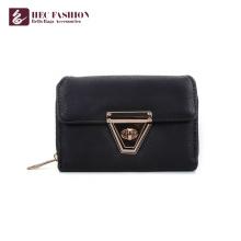 HEC Wholesale Fashion Designer Money Bags PVC Leather Cellphone Wallet