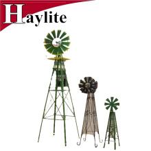 6FT Ornamental metal garden decorative windmill
