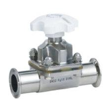Гидравлический ручной зажимной мембранный клапан