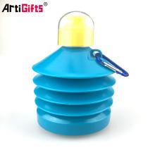 Chine Bouteilles d'eau pliant en plastique Bluk personnalisé en gros sans BPA