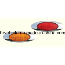 Oval Shape Side Marker Lamp