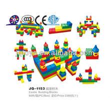 2019 plastic big castle building blocks for kid