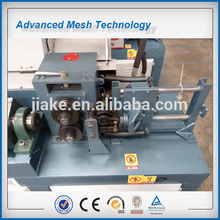Steel rope wire straightening and cutting machine