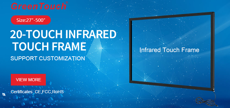 Big Size Infrared Touch Frame