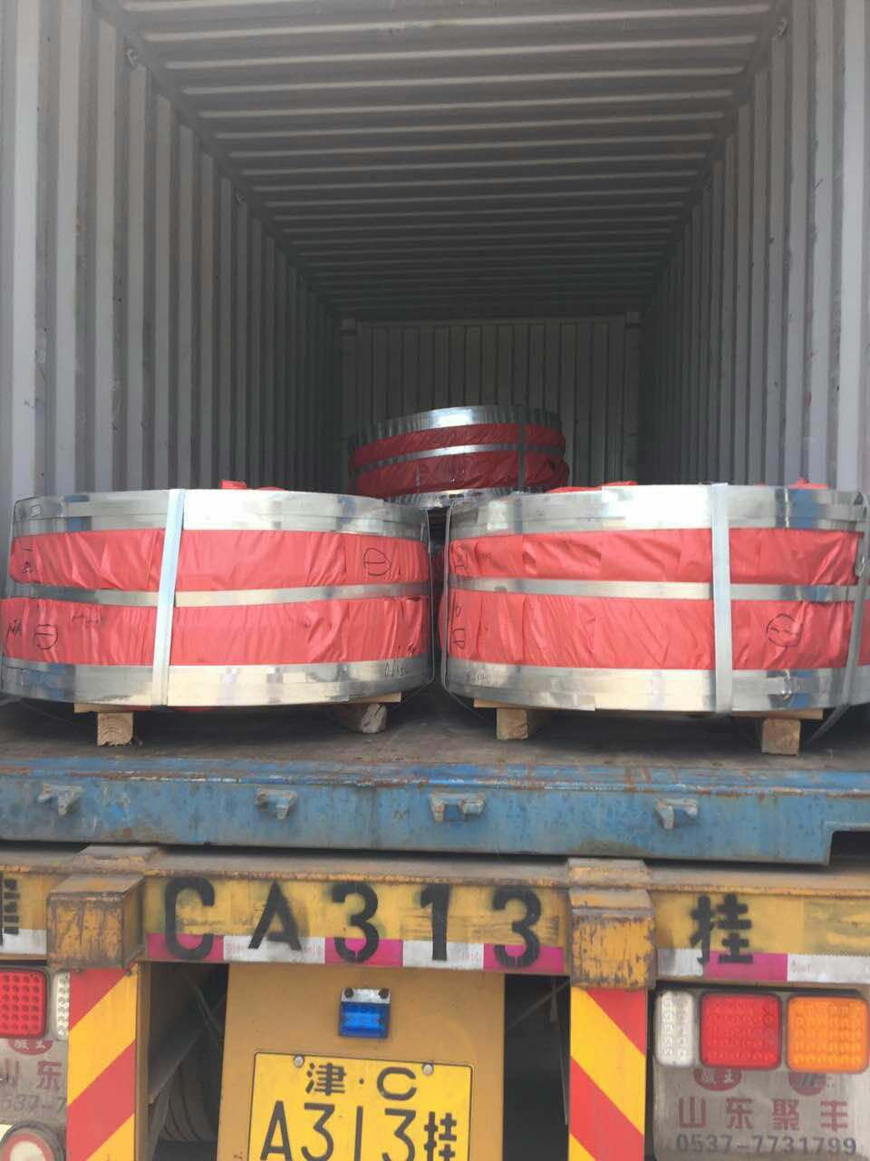 Steel material galvanized coil (8)