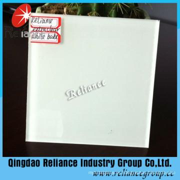 Vidrio de pintura / respaldo blanco con alta calidad