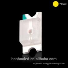 Usine directement smd led lumière smd 0805 montage en surface diode emtting rouge et bleu leds