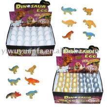 Juguete creciente del huevo del dinosaurio de incubación