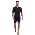 Seakin Men Front Zip Shorty Wetsuit