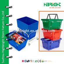 supermarket luxury shopping baskets