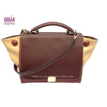 Designer Faux Leather Message Bags Tote Women Handbags (N-1083)