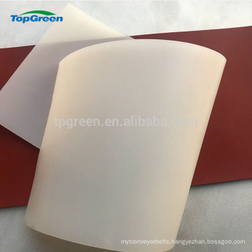 red white transparent medical silicon sheet from China