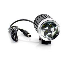 3 CREE Xml T6 Luminosidad estupenda 3000lumen luz de la bicicleta luz de conducción nocturna