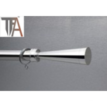 Stainless Steel Single Curtain Rod Pipe