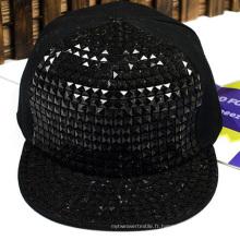 Chapeau de camionneur de 6 casquettes Blank Mesh Snapback