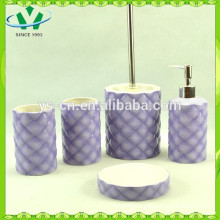 5pcs ceramic bath set,,bathroom accessories for kids
