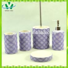 5pcs banho de cerâmica conjunto ,, acessórios de banho para crianças