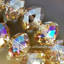 multi tourmaline faceted rondelle beads