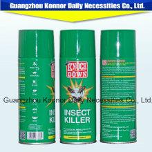 Pesticida de Base de Aceite 400ml Insecticida Aerosol Spray Mosquitos Insecticida Asesino