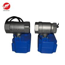 Válvula de control de succión eléctrica de ventilación automática de acero inoxidable