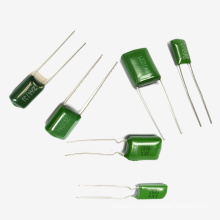 Topmay Зеленый Полиэстер Пленочный Конденсатор Cl11 Tmcf01