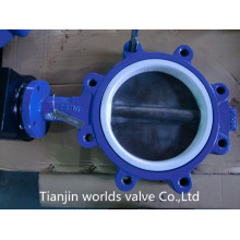 Lug Butterfly Valve with PTFE Seat
