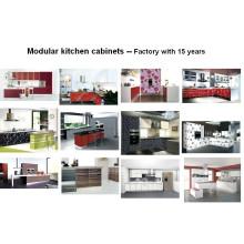 Muebles de cocina de acrílico de patrón (personalizado)