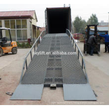 12t Hydraulic ramp lift,car ramp lift,truck loading dock ramp fpr container