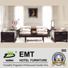 Diseño elegante sofá de hotel de Retrostyle conjunto (EMT-SF08)